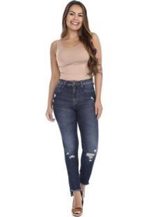 Calça Jeans Super Lipo 264871 Sawary Feminina - Feminino