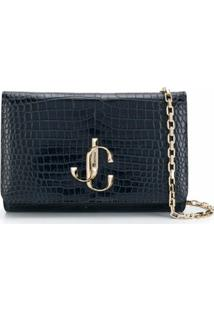 Jimmy Choo Clutch Varenne - Azul