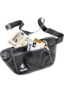 Pochete Security Money Belt Preto - Deuter