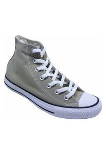 Tênis Converse All Star Chuck Taylor Seasonal Hi Caqui Branco Ct04190039