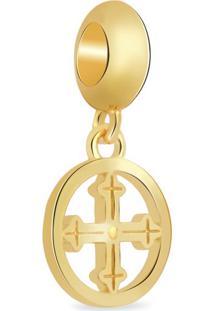 Pingente Life Medalha Cruz Sagrada