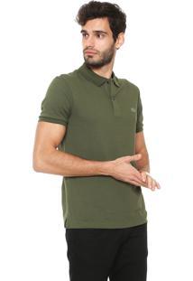 16be1c8dfab54 Camisa Pólo Marrom Slim Fit masculina   El Hombre