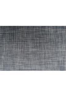 Jogo Americano Textilene 45 X 30Cm Preto