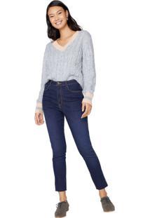 Calça Jeans Barra Fio Sustentável