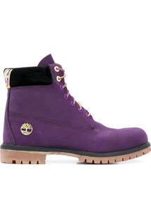 Timberland Ankle Lace-Up Boots - Roxo