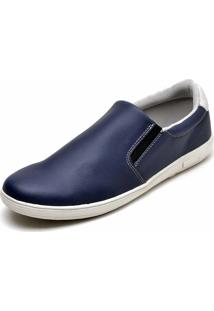 Sapatênis Slip On Iate Mac Point Azul