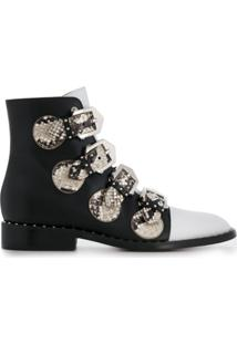 Givenchy Multi-Strap Ankle Boots - Preto