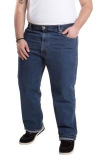 Calça Jeans Levis 505 Regular B&T (Plus Size) - 42X34