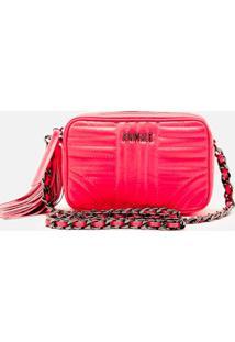 Bolsa Mini Versátil Cap Rosa Neon - U