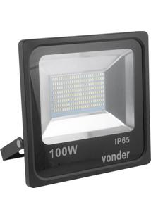 Refletor De Led 100W Rlv 100 Vonder - 8075065100