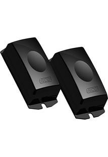 Kit Sensor Para Portao Infravermelho E Anti Esmagamento Fotocelular Preto Rcg