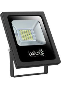 Refletor Led 20W 6500K Ip65 Bivolt Slim Brilia