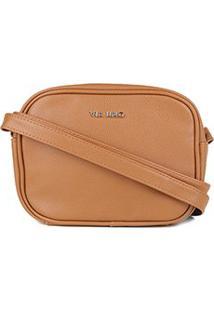 Bolsa Via Uno Mini Bag Feminina - Feminino-Caramelo