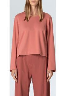 Blusa Rustic Cool Shape-Rosa Medio - P