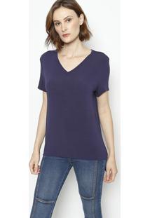 Camiseta Lisa - Azul Marinhoenna