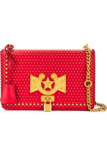 Versace Bolsa Tiracolo Icon - Vermelho