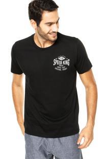 Camiseta Colcci Speed King Preta