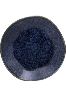 Conjunto 6 Pratos Fundos Oxford 92425 Ryo Safira 22,5Cm Azul