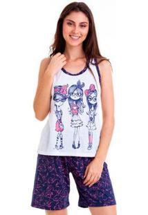 Pijama Nadador Feminino Luna Cuore - Feminino