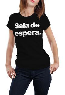 Camiseta Hunter Sala De Espera Preta