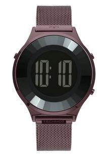 Relógio Technos Crystal Feminino Roxo Bj3851Ai/4P Bj3851Ai/4P