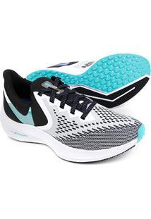 Tênis Nike Zoom Winflo 6 Feminino - Feminino-Cinza+Verde
