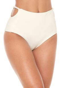Calcinha Clube Bossa Hot Pant Spiral Off-White