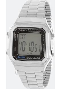 77aa6c8617c Relógio Digital Casio Vintage feminino
