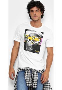 Camiseta Cavalera Estampada Masculina - Masculino