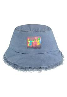 Bucket Jeans Kukiê Azul