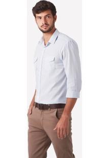 Camisa Social Foxton Ml Paris Masculina - Masculino