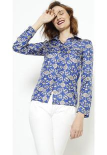 1e5c496f15 ... Camisa Arabescos Em Seda - Preta   Amarelaversace Collection