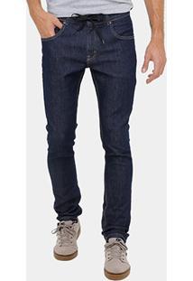 Calça Jeans Quiksilver Denim Masculina - Masculino
