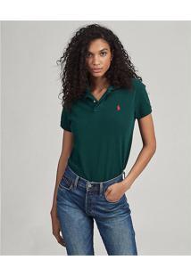 Camisa Polo Polo Ralph Lauren Reta Logo Verde