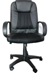 Cadeira Para Escritório Executiva Stacey 108X64Cm Preta