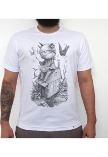 Doces Ou Travessuras - Camiseta Clássica Masculina
