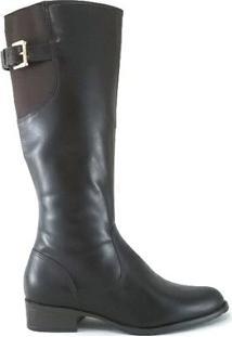 Bota Rr Shoes Montaria - Feminino-Marrom