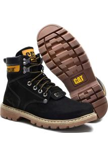 Bota Caterpillar Men´S Original Coturno Preto - 2002