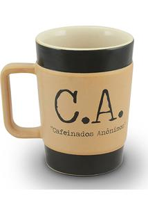 Caneca Coffe To Go-C.A 70Ml-Mondoceram - Pardo