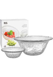 Jogo Salada De Frutas - 7 Peças - Kig - Ricaelle - Incolor