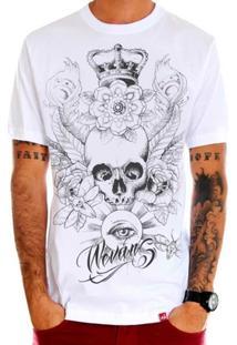 Camiseta Caveira Crown Eye - Masculino