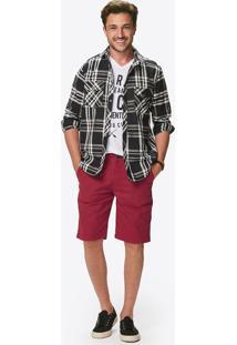 Camisa Tradicional Xadrez Malwee