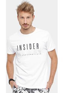 Camiseta Ellus 2Nd Floor Inside Masculina - Masculino