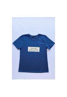 Camiseta Gorgeous Girl Azul