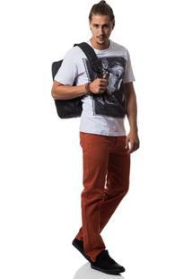 Camiseta Zero Thomas Masculina - Masculino-Branco