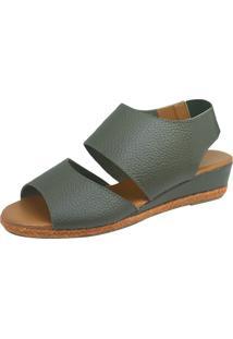 Sandália S2 Shoes Debora Verde Militar