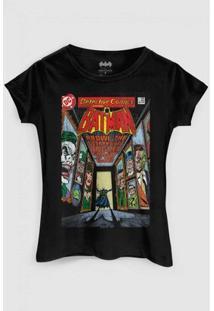 Camiseta Dc Comics Batman Rogues Gallery Bandup! - Feminino-Preto