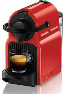 Cafeteira Nespresso Inissia 19 Bar Com Kit De 16 Cápsulas 220V - Vermelha