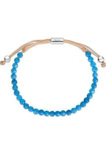 Pulseira Life Shambala Jade Azul - Feminino