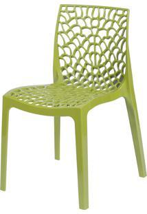 Cadeira Gruvyer S6316 – Or Design. - Verde